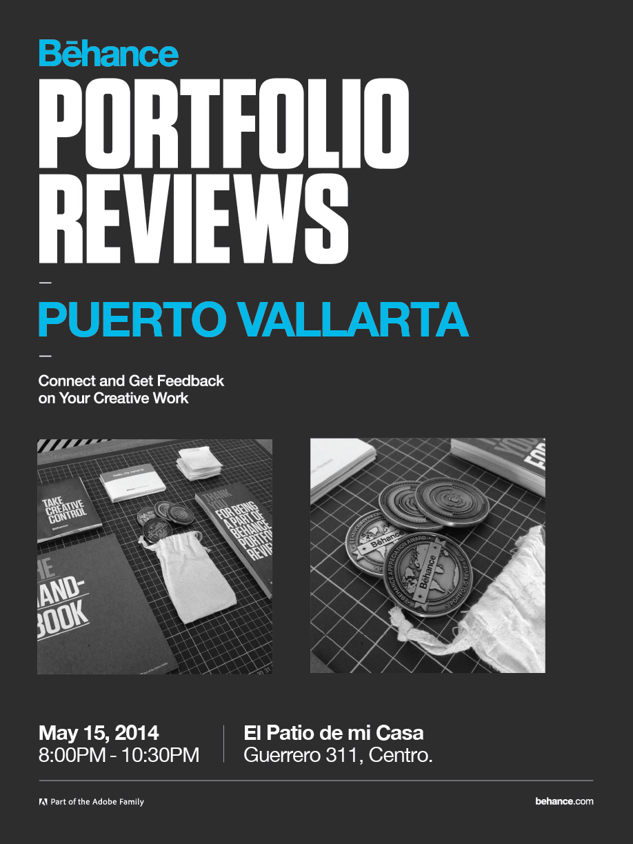 Behance Portfolio Review on May 15th